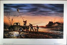 """Terry Redlin """"The Conservationists"""" original limited ed. signed Lithograph print"""