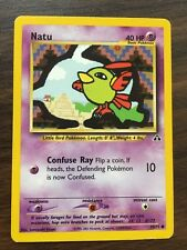 NATU 59/75 Pokemon Card Neo Discovery EXCELLENT