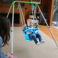 Playground Indoor Outdoor Toddler Swing Set Fun Play Baby Toy Child Kids Rocker