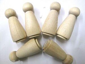 5 wood peg dolls Standard  5cm angel  girl lady peg doll MULTI-BUY DISCOUNT