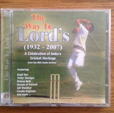 The Way To Lords A Celebration Of India's Cricket Heritage 1932-2007 CD Sealed
