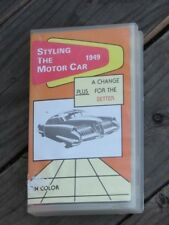 Styling the 1949 Motor Car Rare Documentary Movie in VHS General Motors