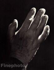 1948/83 Vintage HELEN KELLER HANDS Blind Deaf Author Writer By YOUSUF KARSH 8x10