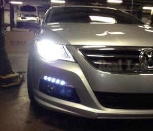 Pair D1S Bulbs Xenon White 5000K Headlights Dipped Beam VW PASSAT CC 2008-2011