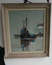 Lucien JOVENEAUX Cuadro óleo sobre lienzo siglo XX Oil Arte pintura Firmado