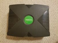 Original Microsoft XBox Console System w/ Controller & Cords Tested Works
