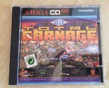 Total Carnage Commodore Amiga CD32