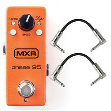 MXR Mini Phase 95 Phaser Guitar Effects Pedal Stompbox 45 90 Switch + Cables