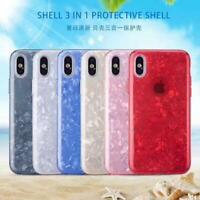 Luxury Marble Shiny Phone Case Cover For Apple iPhone X XS XR XSMax 10 8 7 6s 6