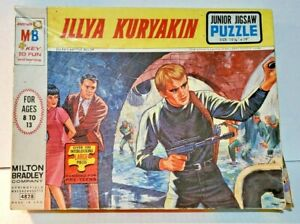 1966 MAN FROM UNCLE Original ILLYA KURYAKIN PUZZLE VINTAGE