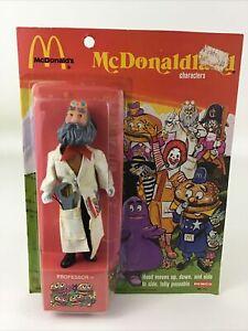 "Mcdonalds McDonaldland Professor Remco 7"" Action Figure 70s Toy Vintage 1976"