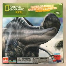 Brontosaurus 3D National Geographic 150 Piece Premium Jigsaw Puzzle New!