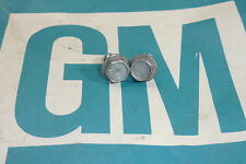 "Original GM Blower Relay Firewall bolts Dimple ""E"" Correct pair 1960s Chevrolet"