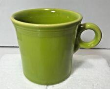 Fiesta Fiestaware Lemongrass Yellow Grn Tom Jerry Homer Laughlin HLC Coffee Mug