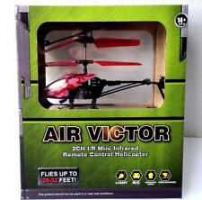 Air Victor Remote Control Helicopter  2CH Infrared Red Camouflage RC