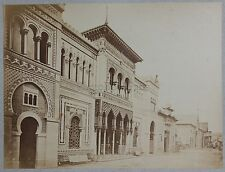 Egypte Le Caire ? La rue principale Vintage albumine