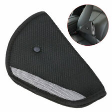 Comfortable Seat Belt Adjuster Car Child Safety Cover Harness BLACK Tri-Pad