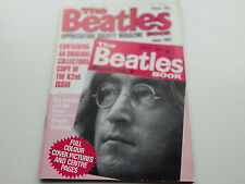 THE BEATLES MONTHLY  BOOK No  62   APPRECATION SOCIETY MAGAZINE  JUNE  1981