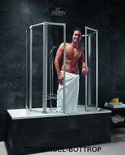 Schulte Badewannenaufsatz Badewannen Faltwand Duschwand BFW6 D1700 KS-Glas Hell