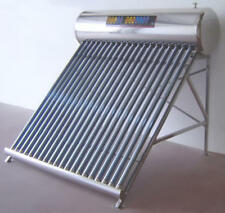 200 Lt Solar Water Heater, Water Hot Water Heating, Evacuated Tube, Thermosiphon