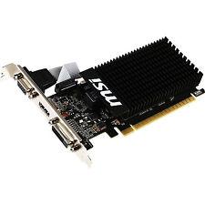 MSI Geforce MODEL: GT 710 2GD3H-LP PCIe 2GB Video Card Budget Gaming Low Profile