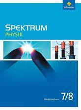 Spektrum Physik 7 / 8. aktuelle Ausgabe G9. Niedersachsen