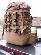 USMC FILBE US Marine Coyote  Main Bag Pack + Pouches No Frame No Shoulder Straps