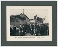 1. Weltkrieg Zeppelin Angriff Bombardierung Fabrik Courbevoie Paris Luftwaffe
