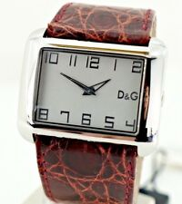 D&G time Crocodile 3 ATM 3719240226 reloj watch fashion stainless steel mujer