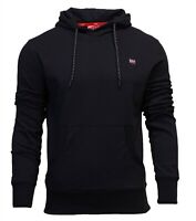 Superdry Mens New Collective Overhead Long Sleeve Hoodie Black