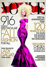 Lady Gaga VOGUE USA #9 2012-916 pages-Vodianova Kloss Wen Tennant