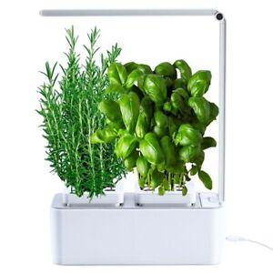 amzWOW Smart Garden - serra idroponica per piante con lampada led inclusa