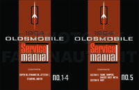 1964 Oldsmobile Shop Manual Set Super Dynamic 88 98 Starfire Service Olds Repair