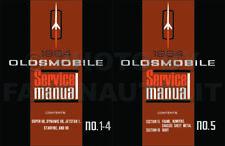 1964 Oldsmobile Manuale di Negozio Set Super Dynamic 88 98 Starfire Servizio