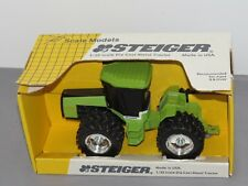 Vintage 1:32 STEIGER PUMA 1000 Chrome Rims Tractor NIB by Scale Models RARE