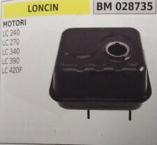 SERBATOIO BENZINA MISCELA MOTORE LONCIN LC240 LC270 LC340 LC390 LC420F