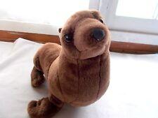 Wild Republic Seal Plush Stuffed Animal Brown