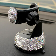 Bling Crystal Car Phone Mount with One More Air Vent Base Cell Phone Holder New