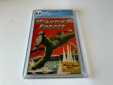 OUR FIGHTING FORCES 32 CGC 4.5 GERMAN MACHINE GUN NEST GRENADE DC COMICS 1958