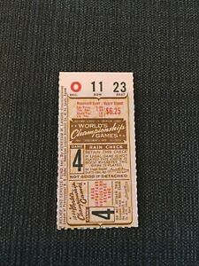 Stan Musial Only Ws HR 1944 World Series Ticket  St Louis Cardinals Browns
