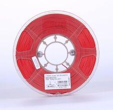 ESUN Elastic Flexible TPE 3d Print Filament 1.75mm 1kg Red