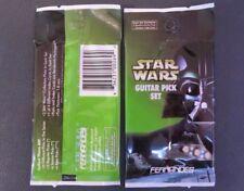Original Star Wars Guitar Pick Pack W/ 2 Picks & 1 Index Card Fernandes Guitars