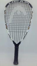 """Head Liquidmetal Hurricane Racquetball Racquet 3 5/8"""" Black & White"""