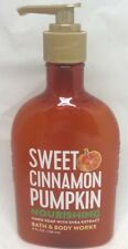 1 Bath & Body Works Sweet Cinnamon Nourishing Hand Soap w shea Butter 8 oz NEW