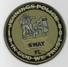 Green SWAT SRT Jennings Police State Florida FL