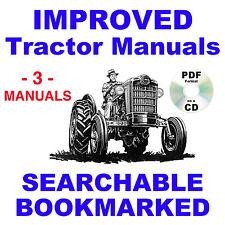 Ford 501 600 601 700 701 800 801 900 901 1801 Tractors Service Amp Parts 3 Manuals