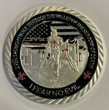 Police Officers I Fear No Evil Collectible Challenge Coin Knight's Templar