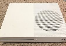Microsoft Xbox One S 500GB White Console Sold As Is