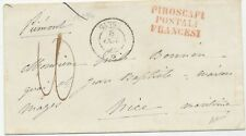 1857 Enveloppe Cachet Paquebot GANGE * + PIROSCAFI POSTALI FRANCESI X3112
