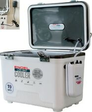 CRAPPIE POLE NEW STYLE ENGEL LIVE BAIT COOLER 30 QUART AEREATED